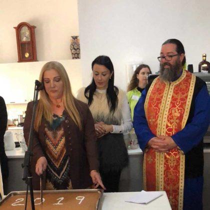 Vasilopitta Cake Event | Archangel Michael Hospice